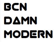bcn damn modern