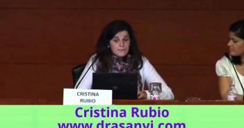 """Conferencia de Cristina Rubio en """"Fòrum Dona i Menopausa"""""""