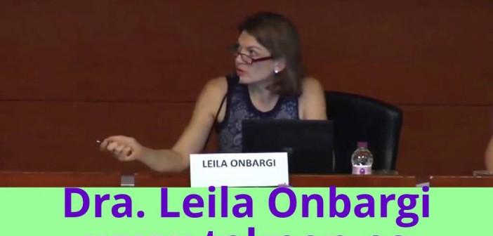 "Conferencia de la Dra. Leila Onbargi en ""Fòrum Dona i Menopausa"""