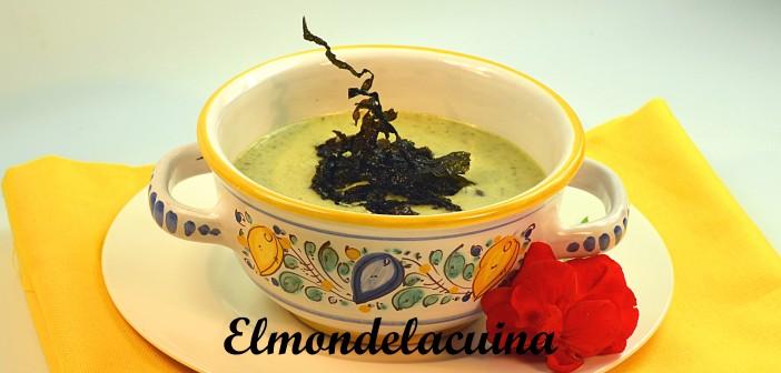 38. Crema de brócoli y wakame2