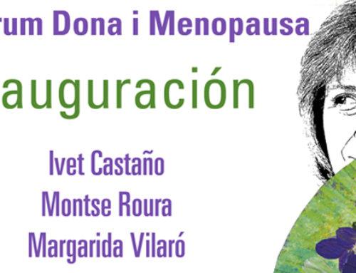 Inauguración del II Fòrum Dona i Menopausa