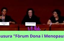 """Conferencia Clausura en """"Fòrum Dona i Menopausa"""""""