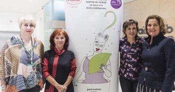 Maria José Moreno, Lola Marine, Montse Roura y Cristina ALvarez