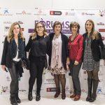 Jessia Alouane, Montse Roura, la estilista Antonia Gambau y Sara Villegas