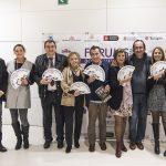 Zaira Saez de CNCE, el Dr. Javier Morán, Fernando Sanchez Dragó, Montse Roura, Andrés Morell de CNCE y Sara Villegas
