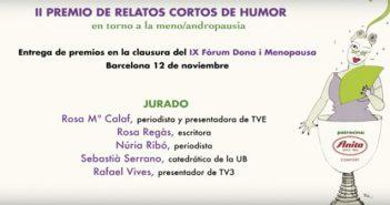 Video, Entrega II Premio de Relatos cortos de humor.