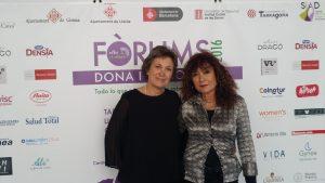Pilar Pons y Montse Roura