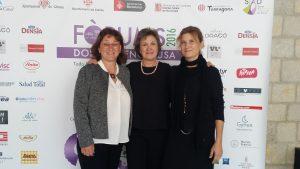 Laura Roura, community manager, Montse Roura y Silvia Sabrìa de Tick Translations