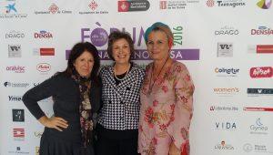 Chus Leiva, Montse Roura y Mercè Espelleta