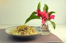 Espirales de quinoa y arroz con nueces