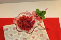granizado natural de fresas
