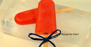 helado de palo de sandía