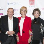 Santiago Palacios, Rosario Castaño y Montse Roura