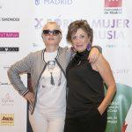 Junto a Anna Grau, presentadora de las conferencias de la mañana