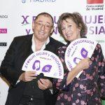 Santiago Palacios, director del Instituto Palacios junto a Montse Roura