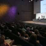 ¡Que privilegio estar en el auditorio del CaixaForum!