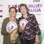 Francisca Molero, presidenta de FESS, junto a Montse Roura