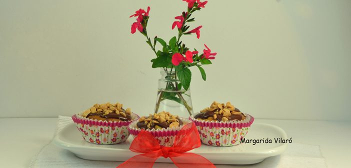 Magdalenas de aguacate y chocolate