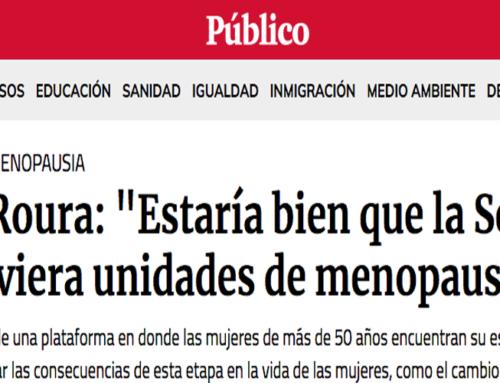 """Entrevista a Montse Roura  en """"El Público"""""""