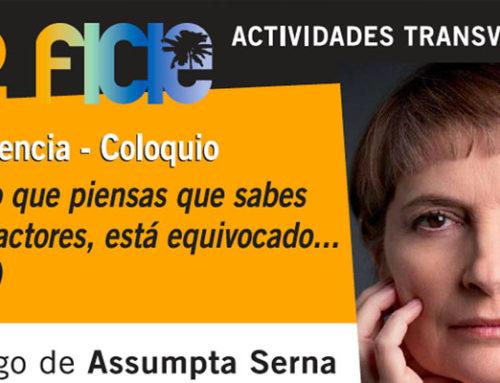 Conferencia Coloquio de Assumpta Serna