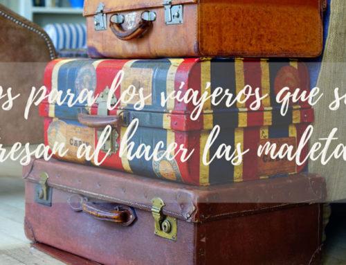 Tips para hacer las maletas