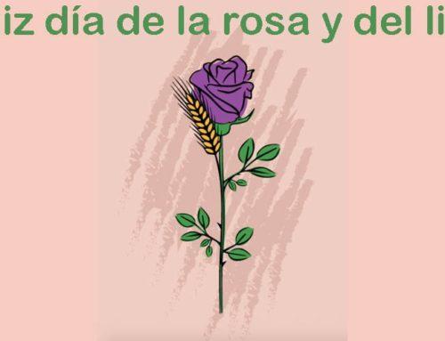 Celebración del día del libro y la rosa ON LINE