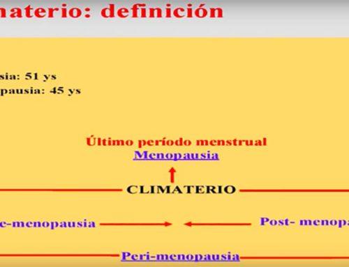 """""""Qué es la menopausia y como disfrutarla"""" por el Dr. Santiago Palacios"""